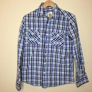 Paper Denim & Cloth Men's Plaid Shirt Sz Medium